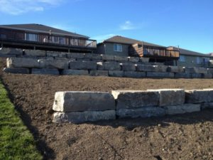 Armour Stone Retaining Walls