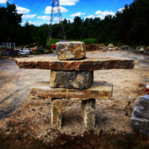 Inukshuk At The Yard