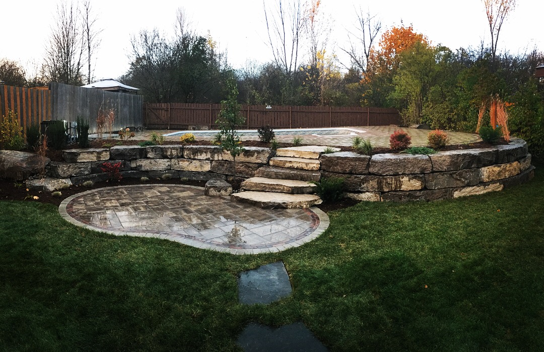 Panoramic Backyard