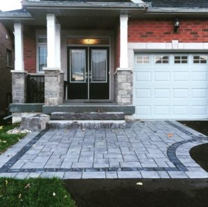 Richcliff paired with natural stone